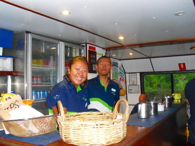 日本人スタッフが乗船している場合も多いので安心