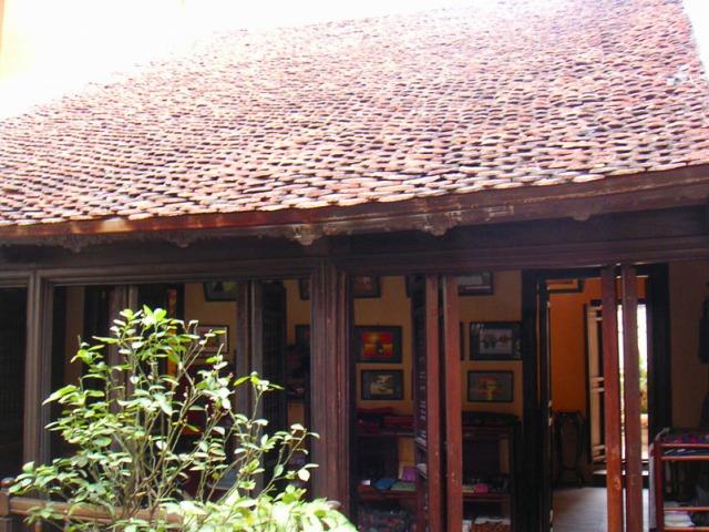 マーマイの家は伝統的住居です!