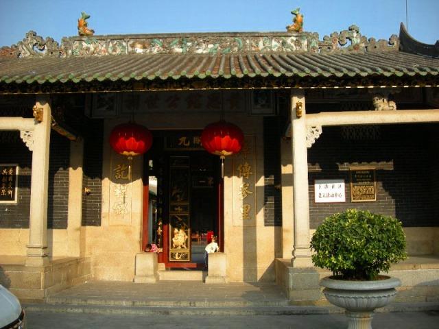 下沙公園の中国廟