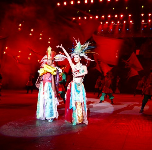 ダンサーは中国の選りすぐり