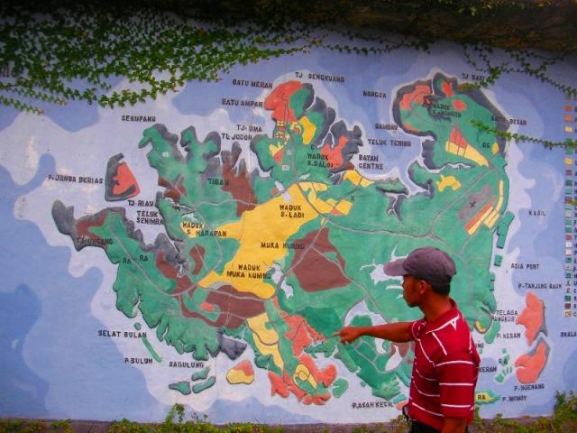 シンガポールより大きいバタム島