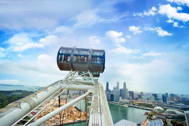 巨大観覧車シンガポールフライヤー