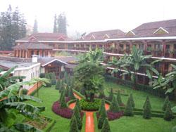 もちろんサパでお泊りのホテルも豪華ですよ!