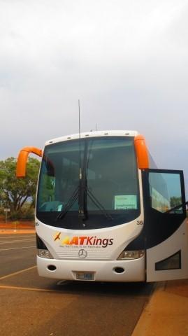 快適なバスで楽々移動