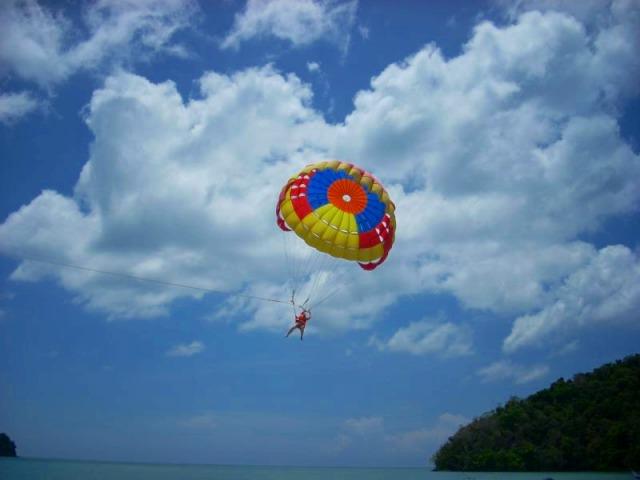 青い空!青い海!