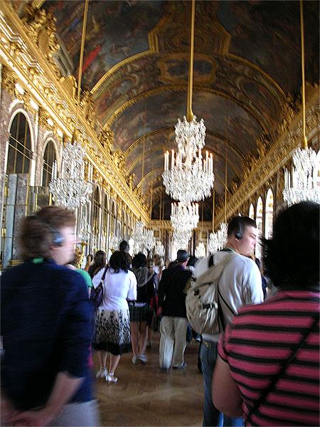 世界遺産ヴェルサイユ宮殿 鏡の間
