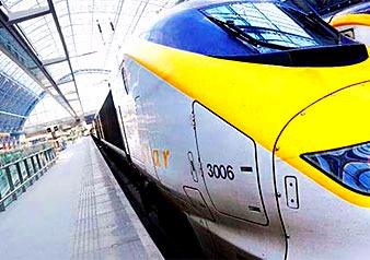 国際高速列車・ユーロスターでの快適な旅