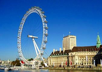 世界最大の観覧車ロンドン・アイ