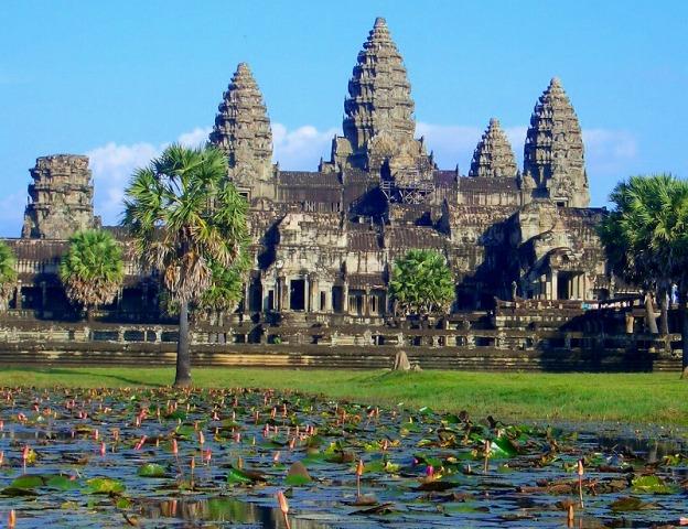 カンボジアといえば外すことができないアンコールワット