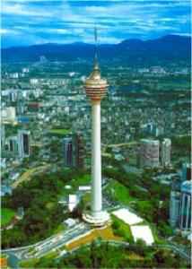 世界4位の高さを誇るKLタワー