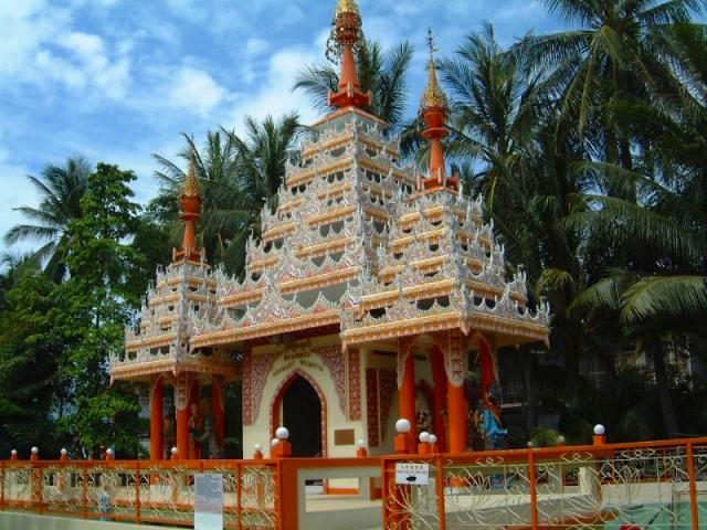 ビルマ寺院入り口