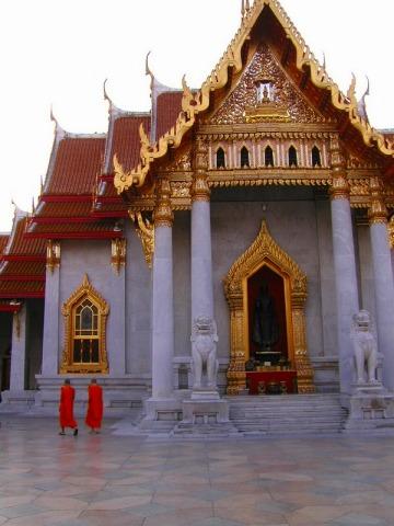 素晴らしい細工を施した寺院