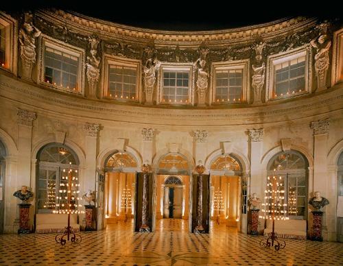 ヴォー=ド=ヴィコント城内部高画質画像です。