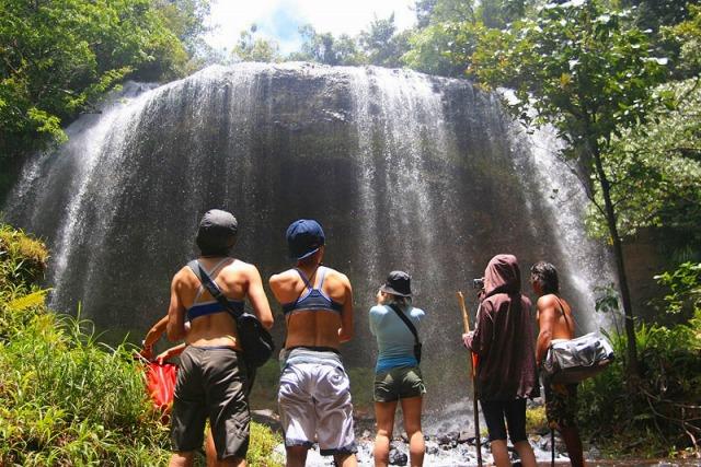 ガラマツオの滝