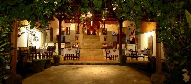 ディナーのレストラン
