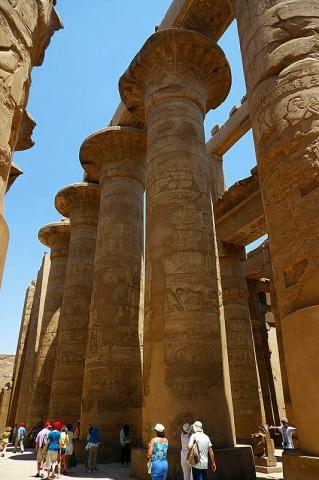 カルナック神殿列柱室