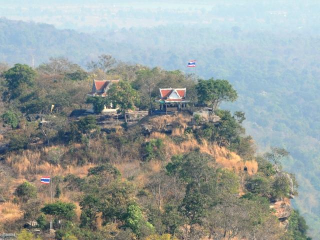 国境タイ側
