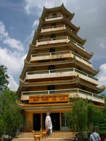 ヤッムラム寺七重の塔