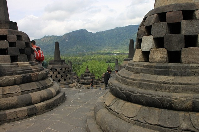 ボロブドゥール寺院遺跡