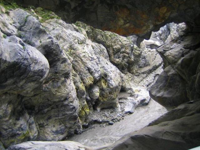 九曲洞からの景色