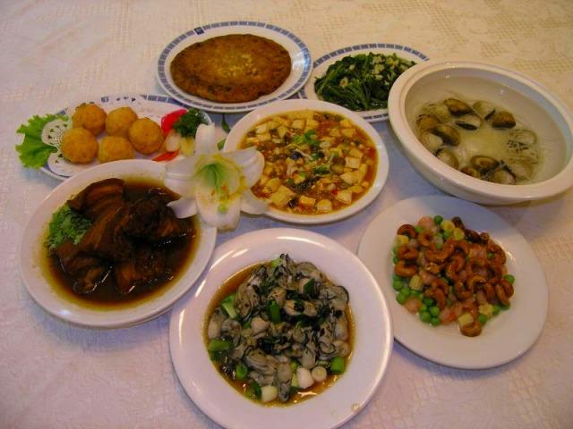 台湾料理(一例)