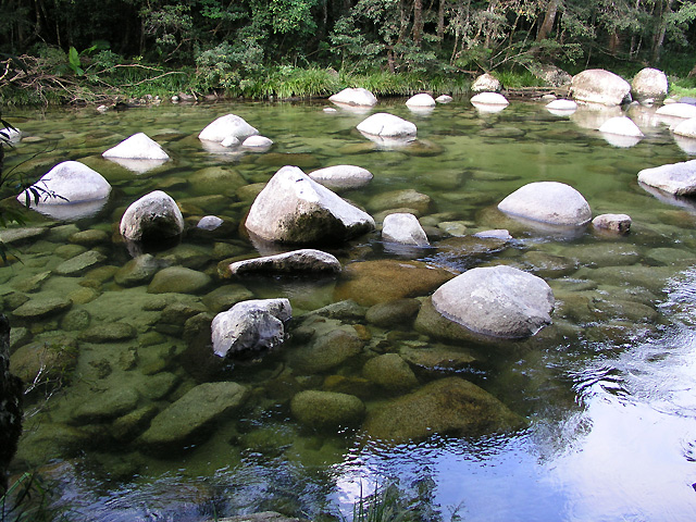 美しい渓流で有名な渓谷