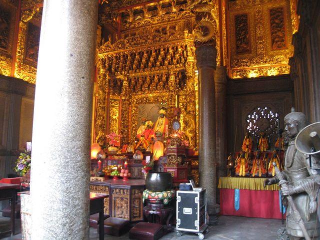 清水祖師廟の内部