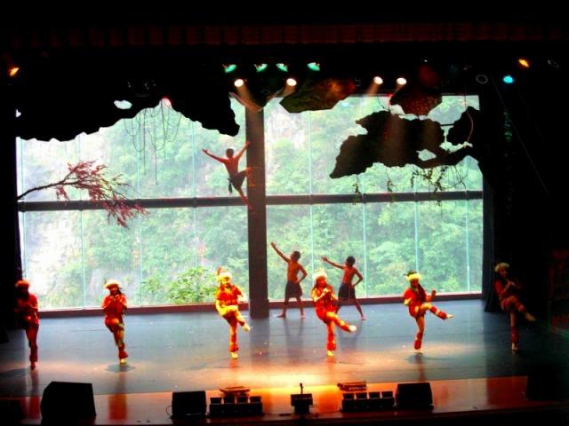 先住民タイヤル族の踊りと歌