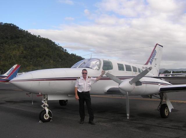 飛行機の一例。使用機材は人数により変わります