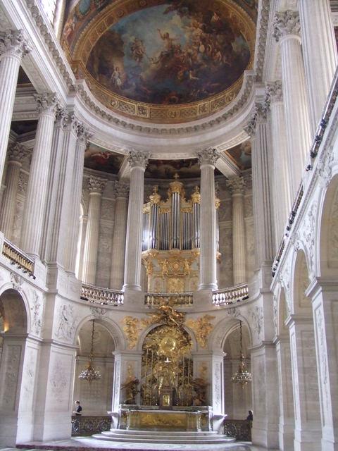 ヴェルサイユ宮殿 王室礼拝堂(ロイヤルチャペル)