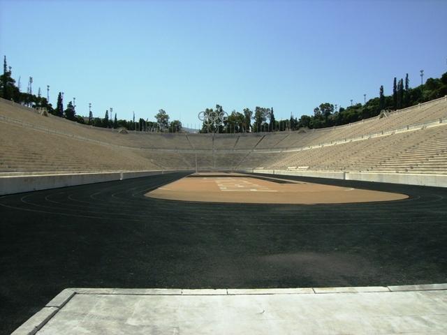パナティナイコ・スタジアム(古代オリンピックスタジアム)