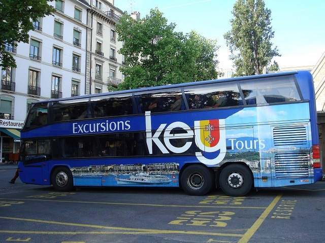 快適なバス