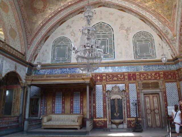 トプカプ宮殿「スルタンの大広間」