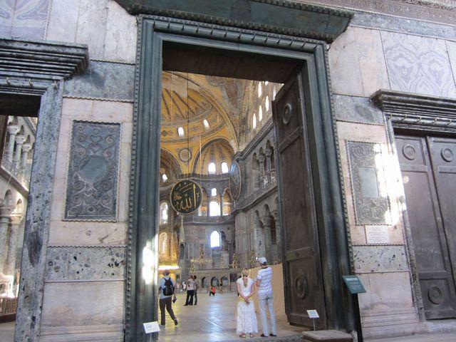 アヤソフィア「皇帝の門」