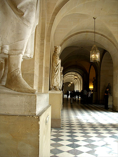ヴェルサイユ宮殿 回廊