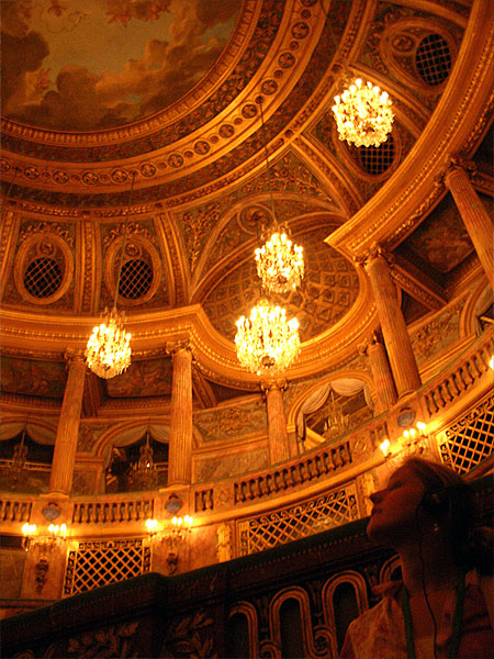 ヴェルサイユ宮殿 オペラ劇場