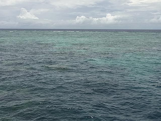 世界遺産グレートバリアリーフの海を貸切状態