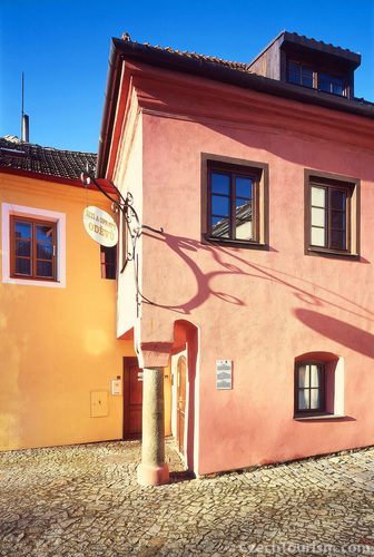 プラハの建物とは異なる建築様式