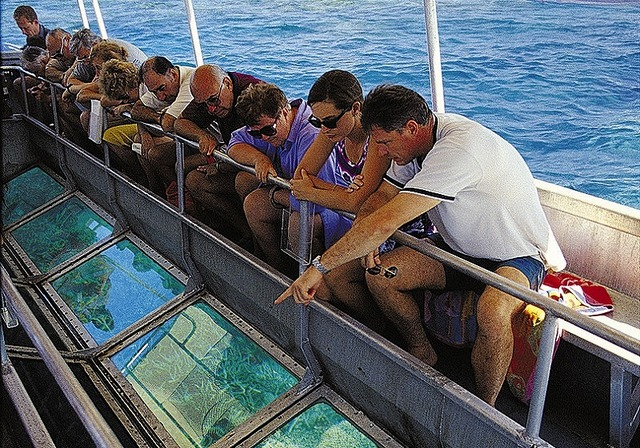 グラスボトムボートツアー