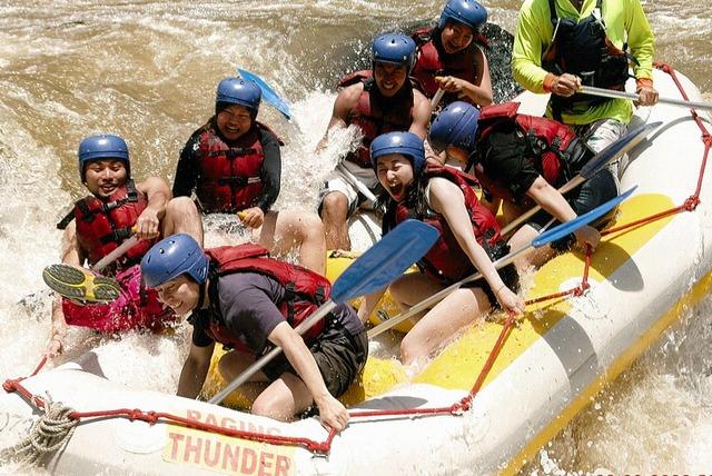 神様がラフティングのために作った川「タリー川」