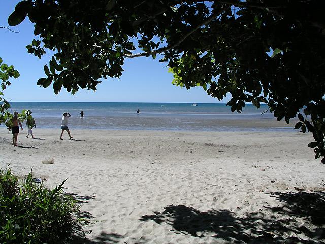 ケープトリビュレーションのビーチ