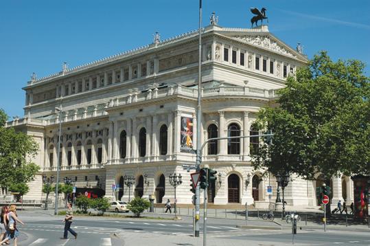 ワーグナーの最新作が上演された旧オペラ座