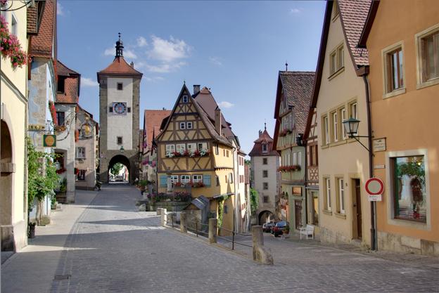 最も保存状態のよい中世の町