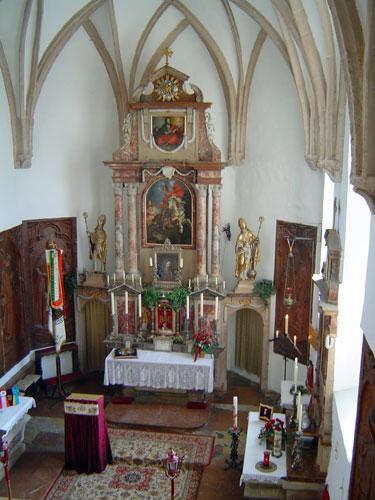 ホーエンザルツブルグ城塞内部祭壇