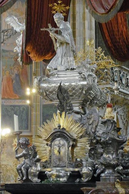 聖ヴィート大聖堂_ヤン・ネポムツキーの棺