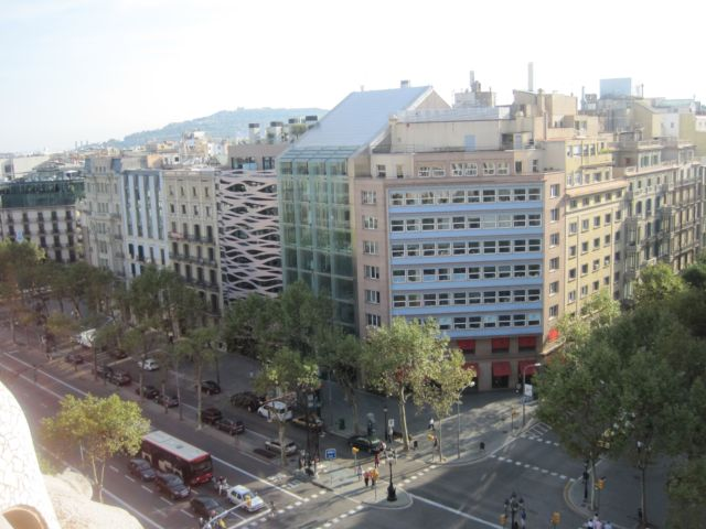 バルセロナの街並み