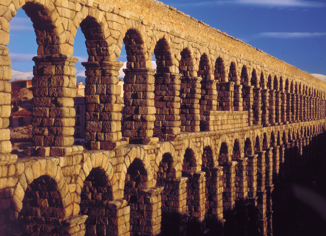 古代ローマの水道橋