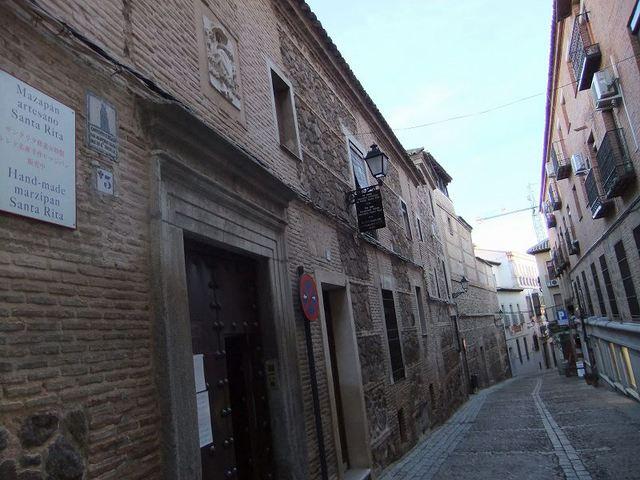 中世にタイムスリップしたかのようなトレドの町並み