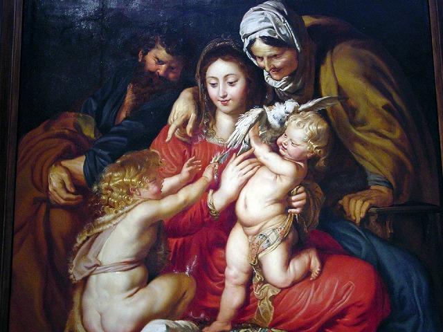 バロック期の画家ルーベンスの作品
