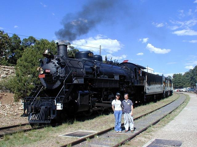 サンタフェ鉄道の蒸気機関車
